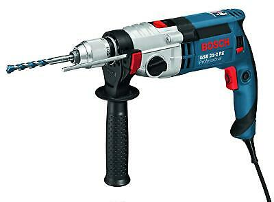 Bosch GSB 21-2RE 110v Professional Mains Percussion Impact Hammer Drill & Case • 192£