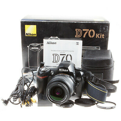 Boxed Infra Red Converted Nikon D70 6.1mp Dslr Film Camera & 18-55mm Lens • 149.90£