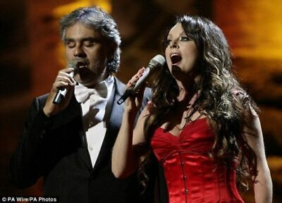 $23.99 • Buy ANDREA BOCELLI DVD, STATUE OF LIBERTY, 2000, SARAH BRIGHTMAN, A+QUALITY +2nd DVD