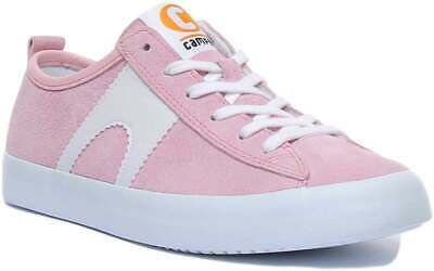 £74.99 • Buy Camper Imar Copa Women Suede Leather Trainers In Pink Size UK 3 - 8
