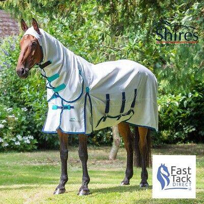 £67.49 • Buy SWEET-ITCH FLY RUG   Shires Highlander Plus HOODY COMBO Horse Bug RugTOP SELLER