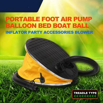 AU7.50 • Buy Portable Foot Air Pump Balloon Bed Boat Ball Inflator Party Accessories