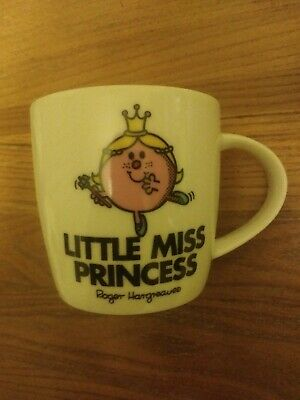 Little Miss Princess Mug. Roger Hargreaves. New Without Box. • 1.95£
