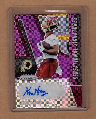 $ CDN5.33 • Buy Kelvin Harmon - Redskins - 2019 Prizm PURPLE POWER Autograph Rookie - RARE /49