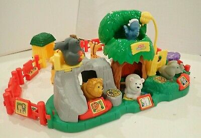 Fisher Price Little People Zoo With An Assortment Of Animals • 7.95£