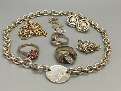 $ CDN88.82 • Buy Another Lot Of Sterling Silver Scrap (or Not) Jewelry Over 100 Grams