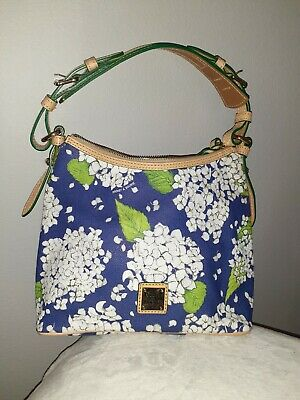 $90 • Buy Dooney & Bourke Bag Lucy Without Pockets Blue/floral