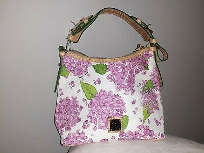 $90 • Buy Dooney & Bourke Bag Lucy Without Pockets Pink/White/Floral