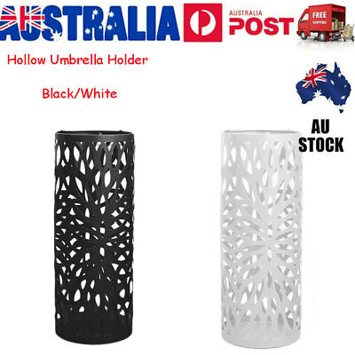 AU30.99 • Buy Steel Umbrella Stand Umbrella Walking Cane Umbrella Container Holder Storage