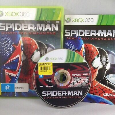 AU34 • Buy Spider-Man: Shattered Dimensions - Xbox 360 - PREOWNED Complete With Manual VGC