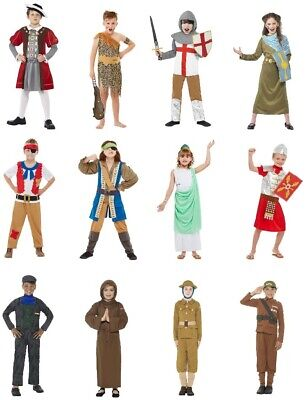 £17.24 • Buy Boys Girls Horrible Histories Fancy Dress Book Day Costumes King Henry VIII WWI