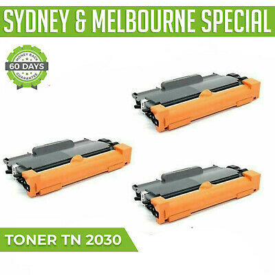 AU21.34 • Buy 2X Tn-2030 Tn2030 Toner Cartridge For Brother DCP7055 HL2130 HL2135w 2600 Pages