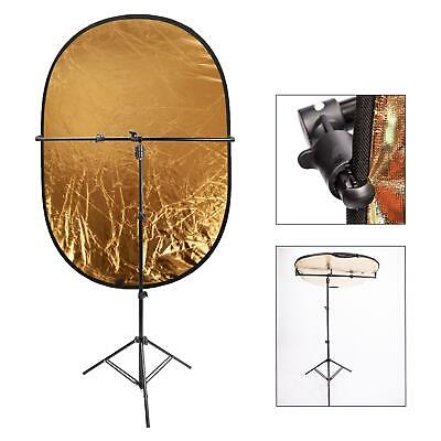 £47.99 • Buy Reflector Holder Studio Boom Arm Light Stand Disc Grip Rotate Photo Photography