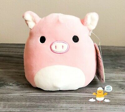 "$ CDN21.16 • Buy Kellytoy Squishmallows 5"" Peter Pink Pig NEW Easter 2020 Lt Ed Collection Plush"