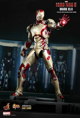 AU699.99 • Buy Hot Toys IRON MAN 3 MARK XLII  42 Diecast NewSealed In Factory Shipper FREE POST