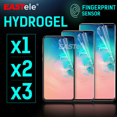 AU8.95 • Buy For Samsung Galaxy S21 S20 Ultra FE S10 Plus Note 20 HYDROGEL Screen Protector