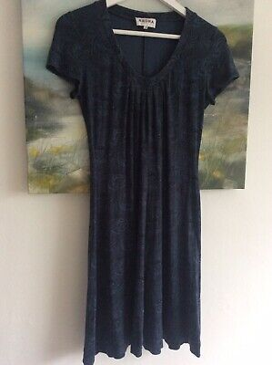 Brora Print Dress, Jersey. Size 12. Great Condition. • 15£