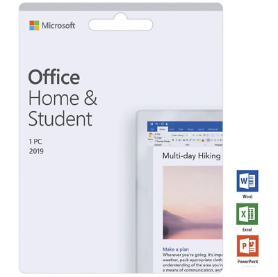 $29 • Buy Microsoft Office Home And Student 2019  For Windows 1PC