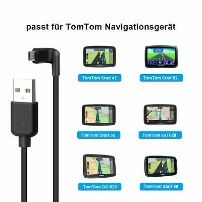 £4.99 • Buy TomTom Data Transfer Sync Charger Cable Right Angle MICRO USB Lead For GO START