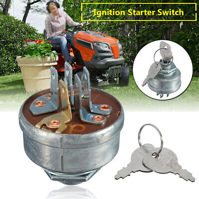 Ignition Starter Switch & Key For MTD 725-0267A Husqvarna Ride On Tractor  • 9.24£