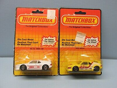 $2.75 • Buy MATCHBOX Superfast TWO 52D BMW M1'S / SEE PICTURES