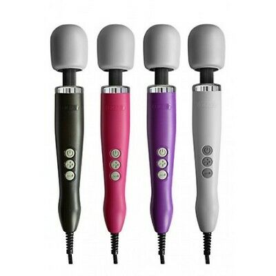 Doxy Wand Massager New Extra Powerful With UK Plug Black White Pink Or Purple • 69.99£