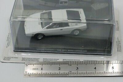$ CDN16.91 • Buy 1/43 James Bond 007 Car Collection Lotus Esprit The Spy Who Loved Model Mib