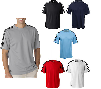 $23.95 • Buy Adidas Golf Mens Climalite 3-Stripes T-Shirt NEW A72