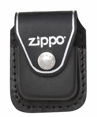 $7.50 • Buy Zippo LPCBK,  Lighter  Black Leather Pouch  W/Belt Clip