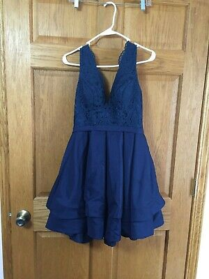 £36.22 • Buy Teen's Dress For Prom, Party, Home Coming,  Special Occasion (Blue) Size 2 Lot 2