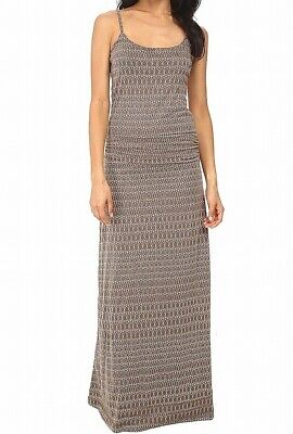 $25.99 • Buy Toad & Co NEW Brown Womens Large L Ruched-Waist Long Island Maxi Dress $89 493