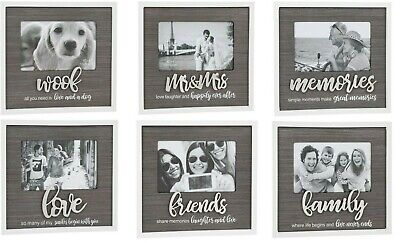 £9.85 • Buy Stylish Script Photo Picture Frame - Various Occasions / Designs