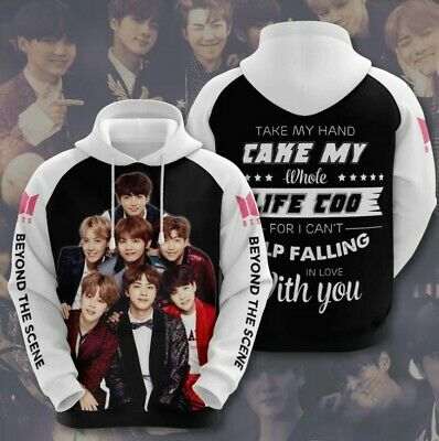 $39.99 • Buy Bts Beyond The Scene Hoodie 3d All Size
