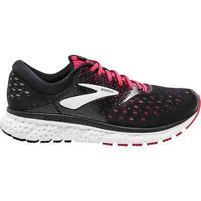 Brooks Glycerin 16 Womens Running Shoes Black Pink Cushioned Supportive Trainers • 79.99£