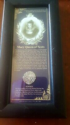 Mary Queen Of Scots Replica Coin And Another Nr • 5£