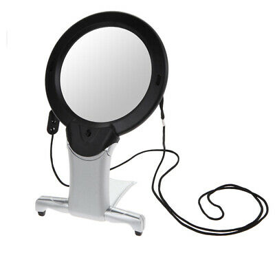 Hands Free 6X Large Magnifying Glass Light Led Lamp Giant Magnifier Reading AID • 0.01£
