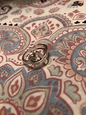 Tiffany & Co Paloma Picasso Sterling Silver Loving Heart Ring • 99.99£