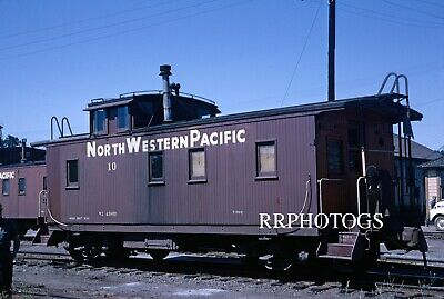 $9.96 • Buy Rr Print Northwestern Pacific Nwp Wooden Caboose #10