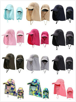 $7.99 • Buy 360°Outdoor UV Protect Cover Sun Hat Cap Fishing Hunting Hiking Wide Brim US