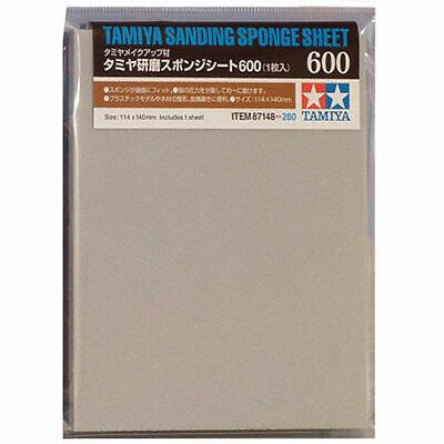 TAMIYA 87148 Sanding Sponge Sheet 600 - Tools / Accessories • 4.95£