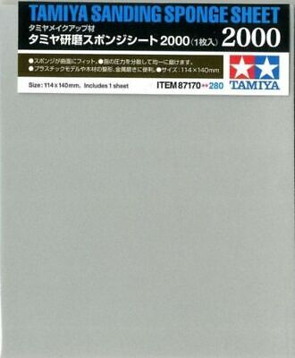 TAMIYA 87170 Sanding Sponge Sheet 2000 - Tools / Accessories • 4.95£