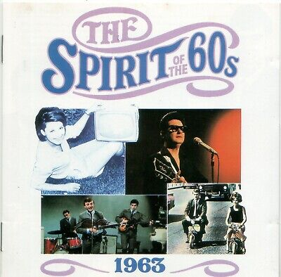 Various 'The Spirit Of The 60s - 1963' Time Life Music CD 1990 EX • 6.10£