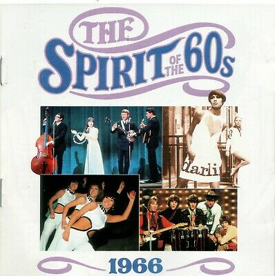 Various 'The Spirit Of The 60s - 1966' Time Life Music CD 1990 EX • 6.10£