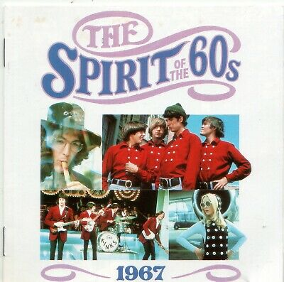 Various 'The Spirit Of The 60s - 1967' Time Life Music CD 1990 EX • 6.10£
