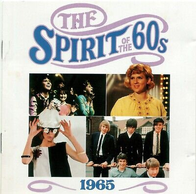 Various 'The Spirit Of The 60s - 1965' Time Life Music CD 1990 EX • 6.10£