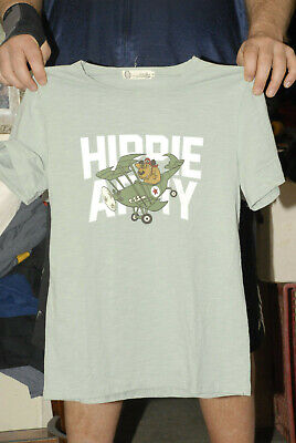 Muttley T Shirt Flying Ace HIppie Army Engoulin Brand XL Ladies Hanna Barbera • 14.21£