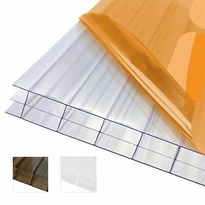 £279.55 • Buy 16mm Triplewall Polycarbonate Sheet Conservatory Lean-To Carport Canopy Roof
