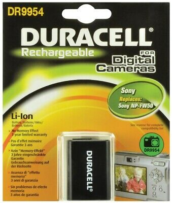 Duracell Sony NP-FW50 Replacement Rechargable Camera Battery DR9954 New UK • 19.97£