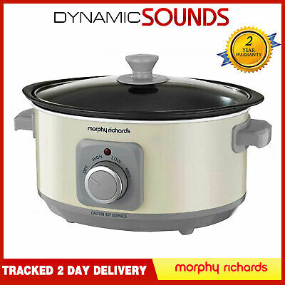 Morphy Richards 460013 Evoke Sear And Stew Slow Cooker 3.5 Litres 163 Watt • 28.99£