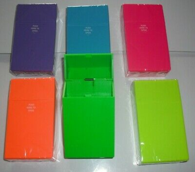 Super-king Size Silicone Cigarette Case - Ciggie Sleeves - 6 Colours Available • 3.79£